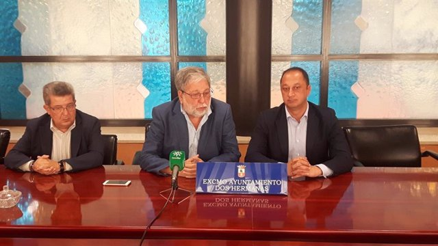 Carlos Toscano, Francisco Toscano y Gómez de Celis, durante el encuentro