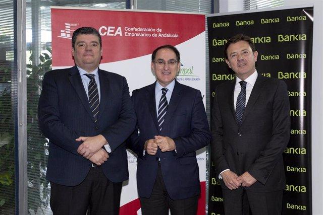 Bankia colabora con la Confederación de Empresarios de Andalucía en su Asamblea