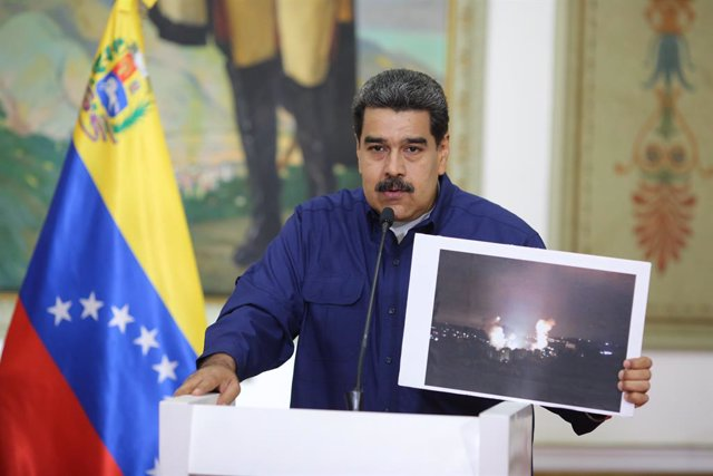 Venezuelan President Maduro press conference