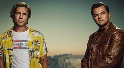 Primer póster de Érase una vez en... Hollywood con Leonardo DiCaprio y Brad Pitt