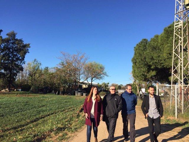 Sevilla.-26M.-Adelante se compromete a blindar la actividad de viveros municipal
