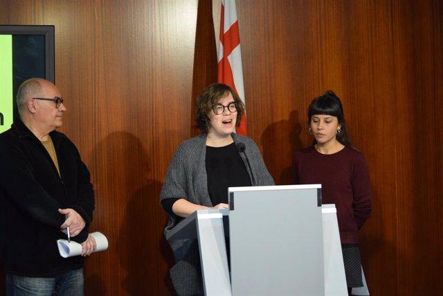 Pere Casas, Eullia Reguant y Maria Rovira