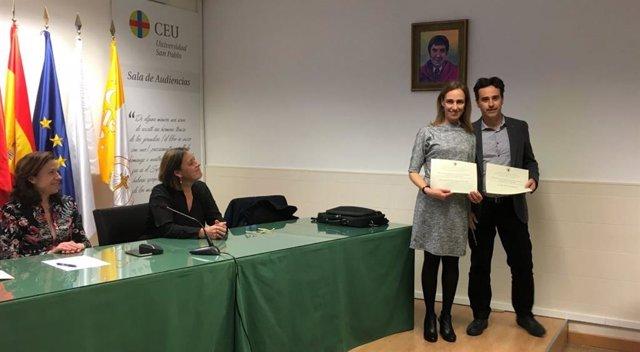 La Escuela de Estudios Cooperativos de la UCM premia a dos profesores de Economí