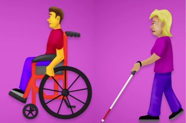Nous emojis discapacitats