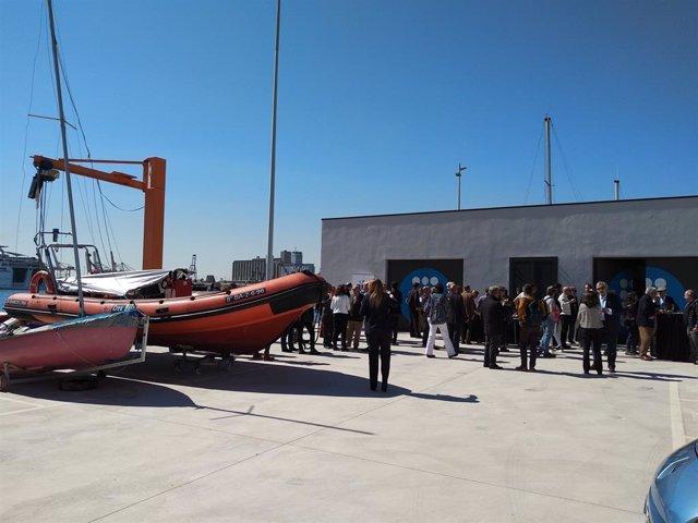 La UPC inaugura installacions per a prctiques de Nutica en el Port de Barcelo