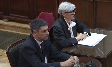 La Fiscalia no veu clau el pla de Trapero sobre Puigdemont perquè se'l jutjarà per uns fets anteriors (SEÑAL DE TV DEL TRIBUNAL SUPREMO)