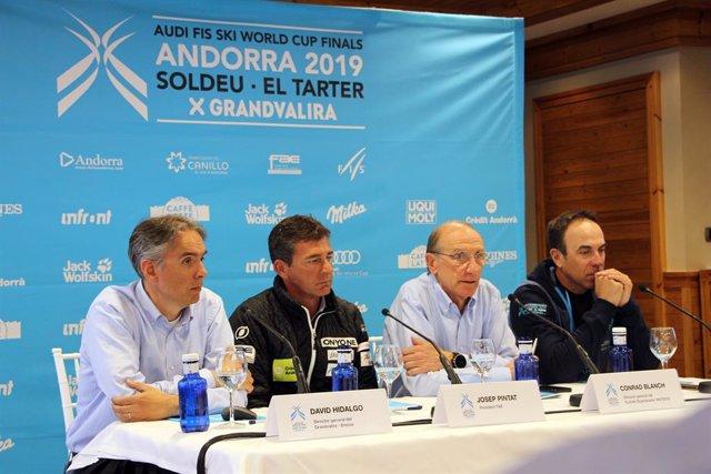 """Grandvalira demana acollir més competicions després del """"xit"""" de les Finals de"""