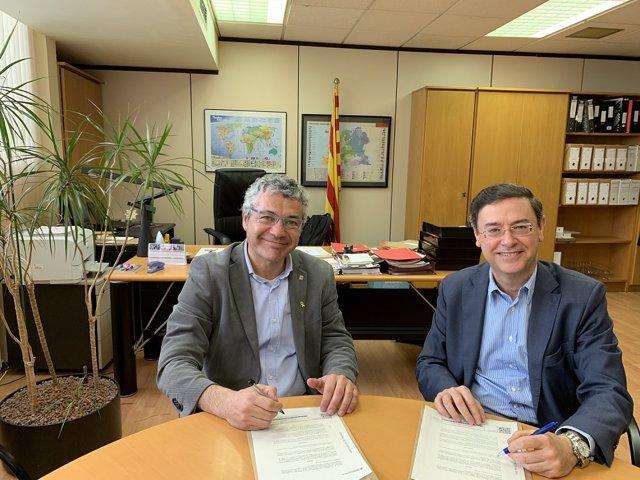Cecot collabora amb el Govern en la integració de refugiats ajudant-los en la i