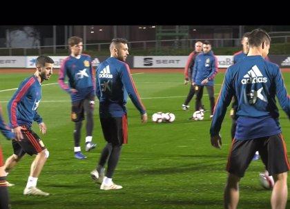 Marco Asensio y Fabián Ruiz se ausentan del primer entrenamiento de la selección en Las Rozas