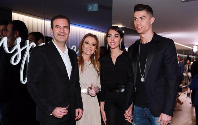 Cristiano Ronaldo y Georgina, de lo más compenetrados en su paso por Madrid