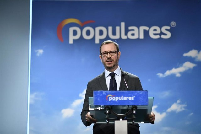 """AMP.- El PP califica de """"repugnante y vomitivo"""" que la """"izquierda acuse al PP de"""