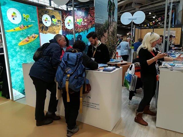 La Aetib participa en el Salon Destination Nature de París para promocionar la n