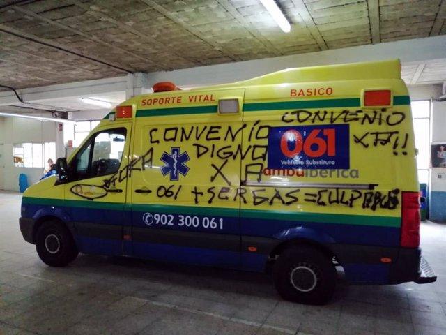 El 061 denuncia que 148 ambulancias registraron pinchazos durante la tercera con