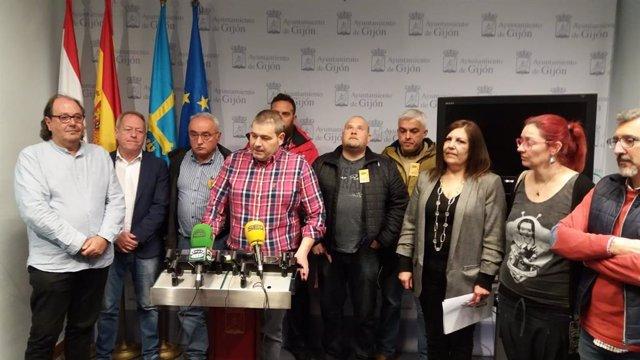 Gijón.- Trabajadores de Mantenimiento viario irán a la huelga si no se cumple el