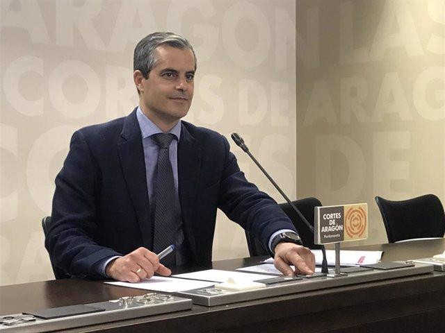 Javier Martínez (Cs) propone crear una oficina de captación de inversiones para