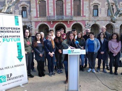 La ILP de rebaixa de les taxes universitries recull 20.000 signatures en tres setmanes