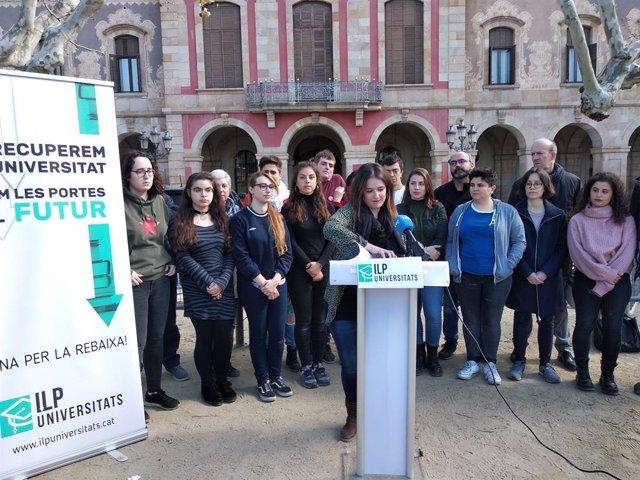 La ILP de rebaixa de les taxes universitries recull 20.000 signatures en tres s