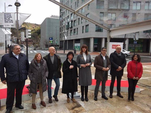 """Mendia critica la """"soberbia"""" de PNV al proclamarse """"único defensor"""" de Euskadi y"""