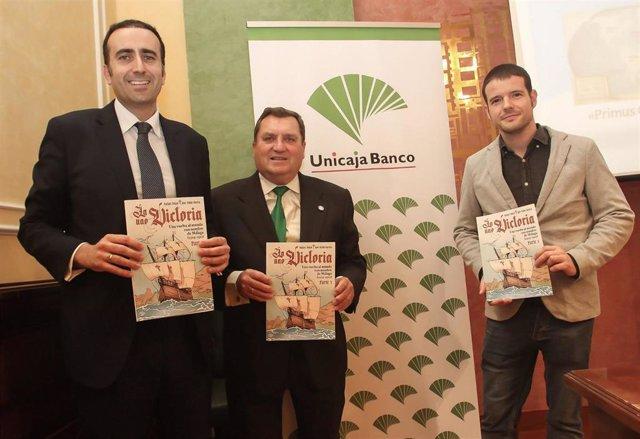 Málaga.- Unicaja Banco colabora en la publicación de un cómic sobre la Nao Victo