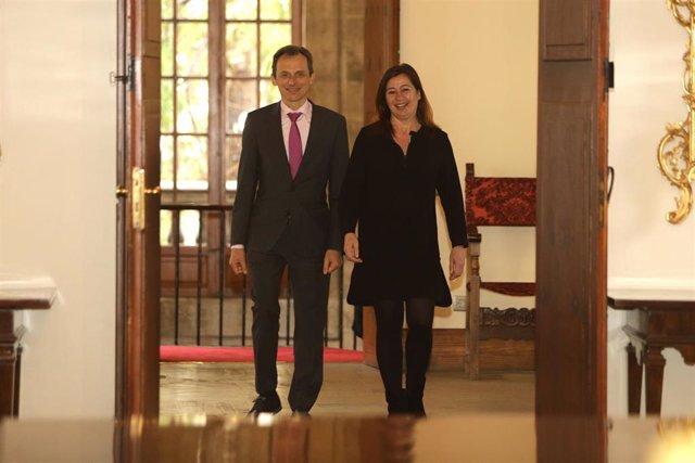 Reunión en Palma de Mallorca del ministro de Ciencia, Innovación y Universidades