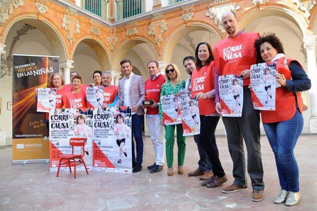 CórdobaÚnica.- La Diputación respalda la carrera solidaria 'Corre por una causa'