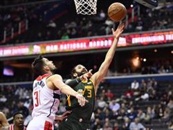 Els Jazz i els Raptors arrasen els seus rivals amb bones actuacions de Rubio i Gasol (USA TODAY SPORTS / USA TODAY SPORTS)