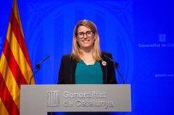 Quim Torra mantindrà el llaç groc a la Generalitat i enviarà un altre escrit a la JEC (EUROPA PRESS)
