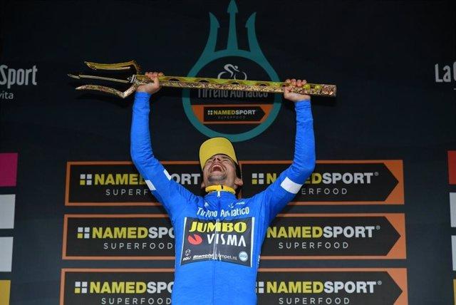 Ciclismo.- Primoz Roglic (Jumbo-Visma) arrebata la Tirreno Adriático a Adam Yate