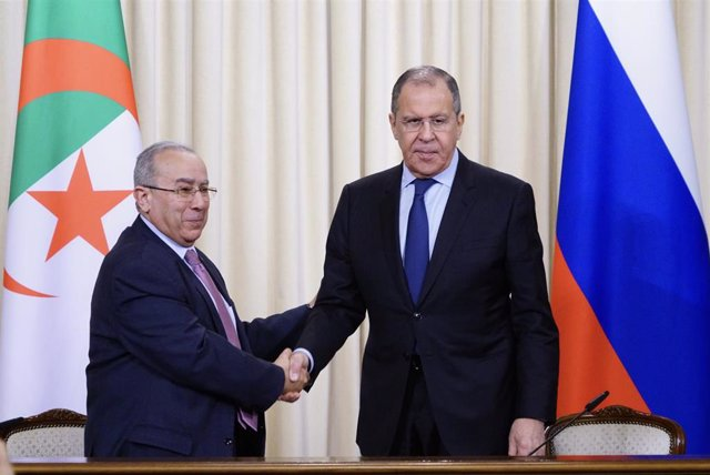 Algerian Foreign Minister in Moscow