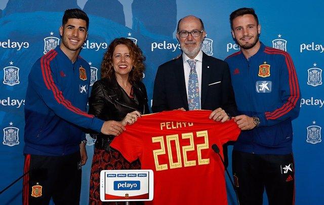 Fútbol/Selección.- Pelayo renueva como patrocinador oficial de la selección hast