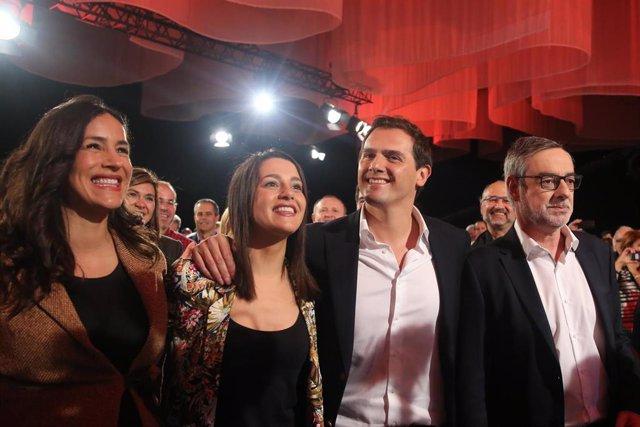 Presentación de Albert Rivera como candidato de Ciudadanos a la Presidencia del