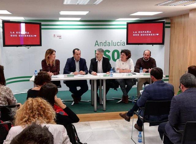 """Málaga.- 28A.- El PSOE refuerza su Comité Electoral """"para ganar"""" las elecciones"""