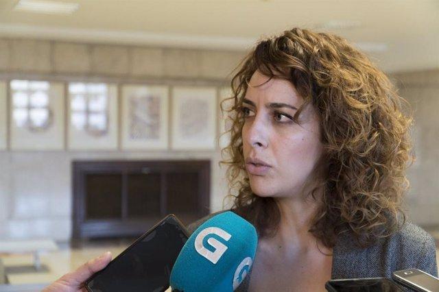 La diputada de En Marea, Alexandra Fernández
