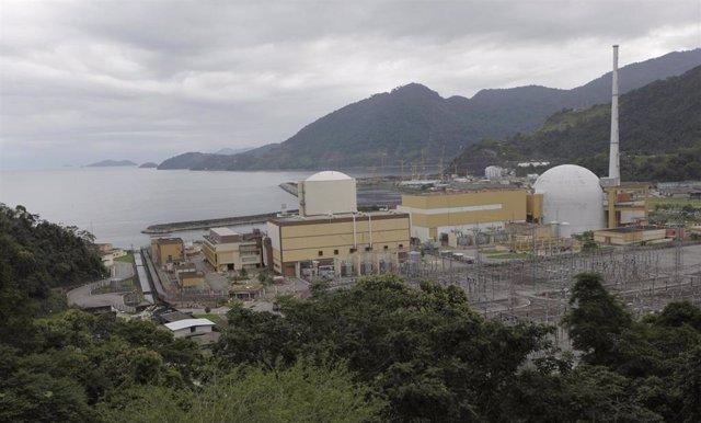 Central nuclear  Angra dos Reis en Brasil