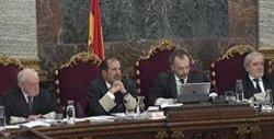 Els guàrdies civils que van analitzar els comptes de correu electrònic dels acusats declaren aquest dimecres (SEÑAL DE TV DEL TRIBUNAL SUPREMO)