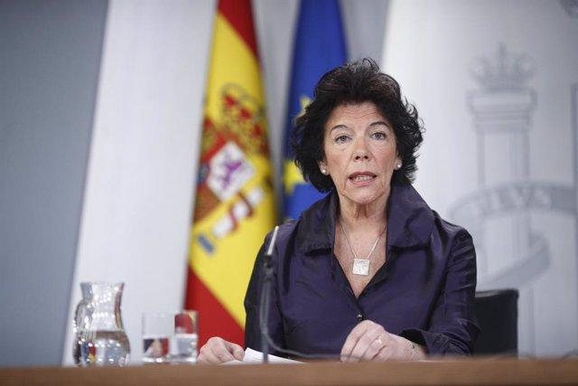 28A.- El Govern rebaixa el to i evita criticar l'oposició donis de la taula del