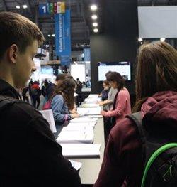 El Saló de l'Ensenyament obre les portes amb tretze graus nous a l'oferta de les universitats públiques catalanes (ACN)