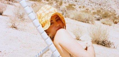 El desnudo de Miley Cyrus en Instagram para recibir a la temporada festivalera