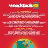 Foto: El portentoso e inabarcable cartel del 50 aniversario de Woodstock
