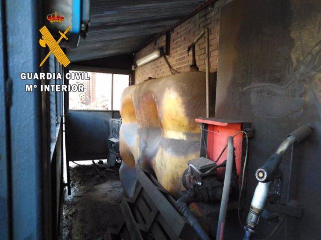 Sucesos.-Denunciadas dos empresas en Navarra por utilizar gasóleo bonificado en