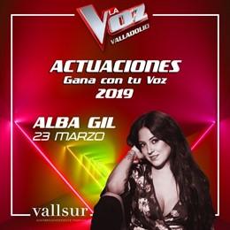 La ganadora de La Voz 2017, Alba Gil, presentará este sábado en Vallsur su disco