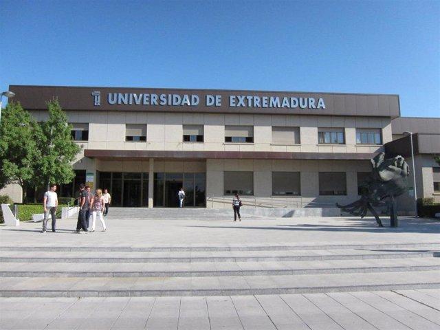 Rectorado De La Uex En Badajoz