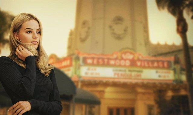Margot Robbie como Sharon Tate en el nuevo póster de 'Érase una vez en... Hollyw