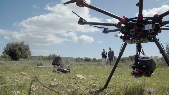 Drones, análisis Big Data y semillas inteligentes 'iSeeds' para reforestar 1,5 m