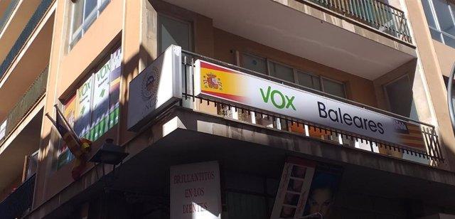 El Sindicato de Periodistas de Baleares exige rectificación a Vox por la expulsi