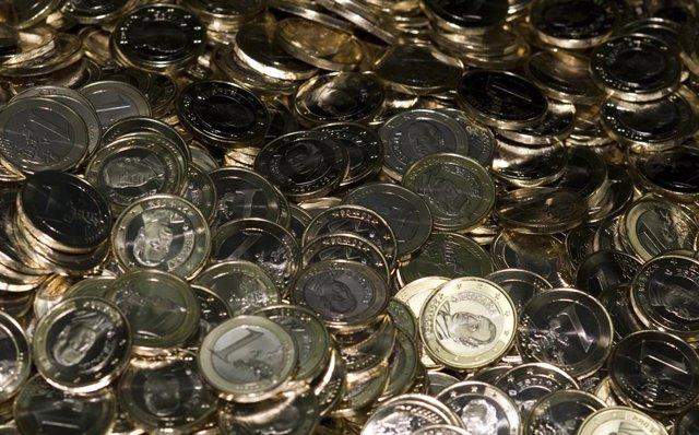 Recursos de monedes. Euros. Diners