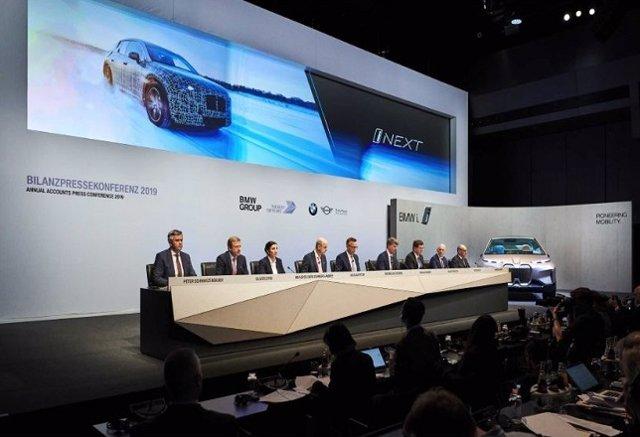 Economía/Motor.- El grupo BMW logra el segundo mejor resultado de su historia en