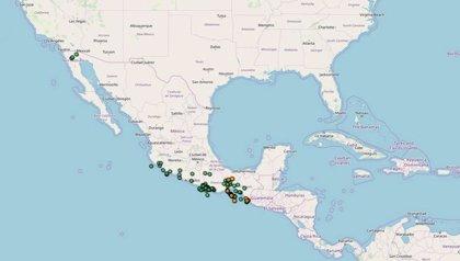 México registra 58 sismos en las últimas horas