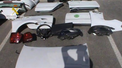 Cae un grupo criminal especializado en la sustracción y desguace de vehículos