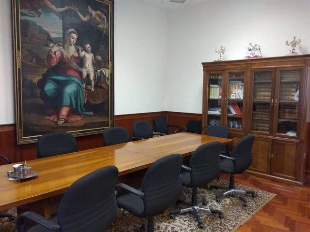 Trib.- Vistas las excusas del 'Caso Sara' en el despacho del presidente de la Au